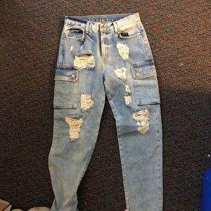 CARMAR blue pocket jeans
